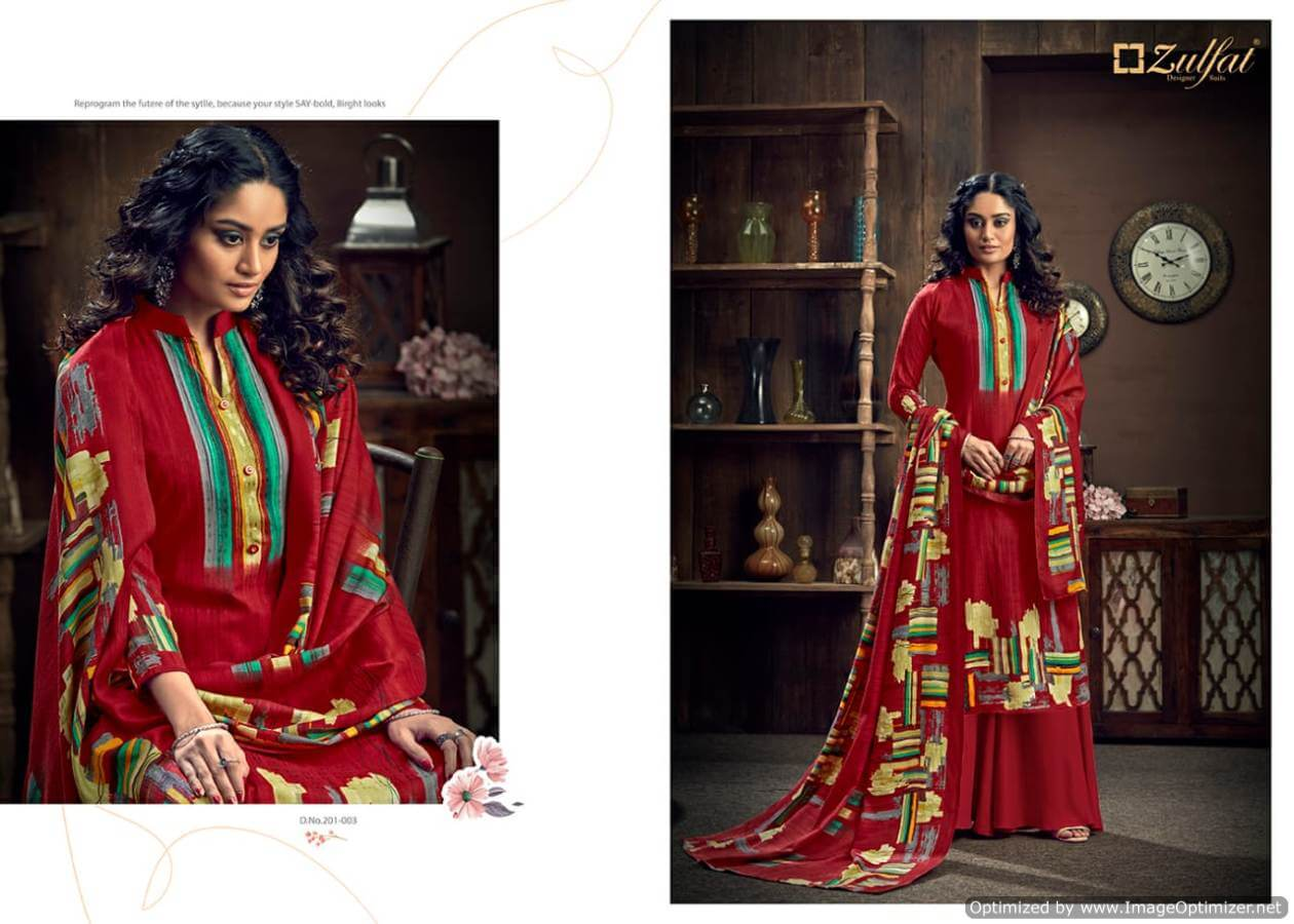 Zulfat Winter Magic collection 8