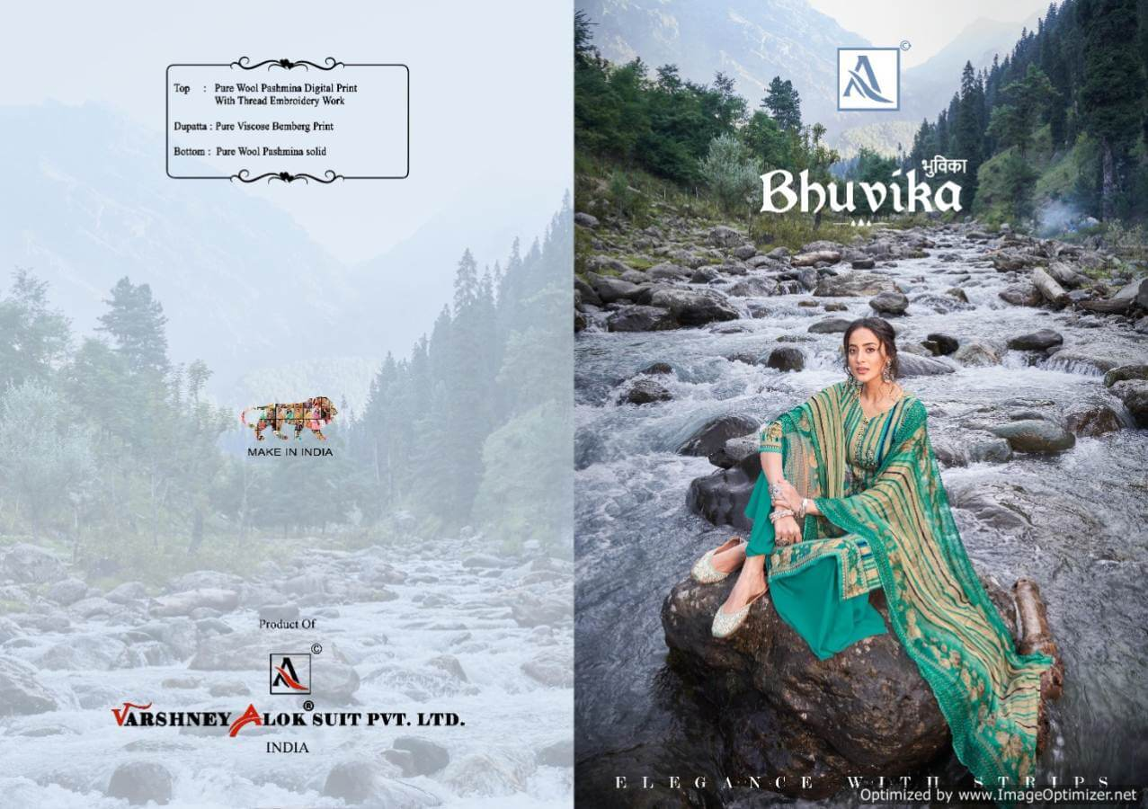 Alok Bhuvika collection 4