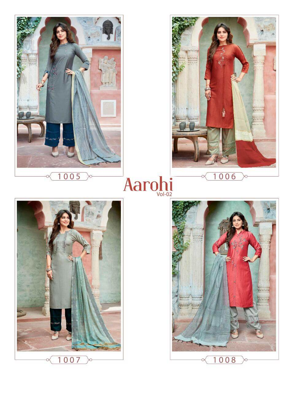 Ladies Flavour Aarohi Vol 2 collection 12