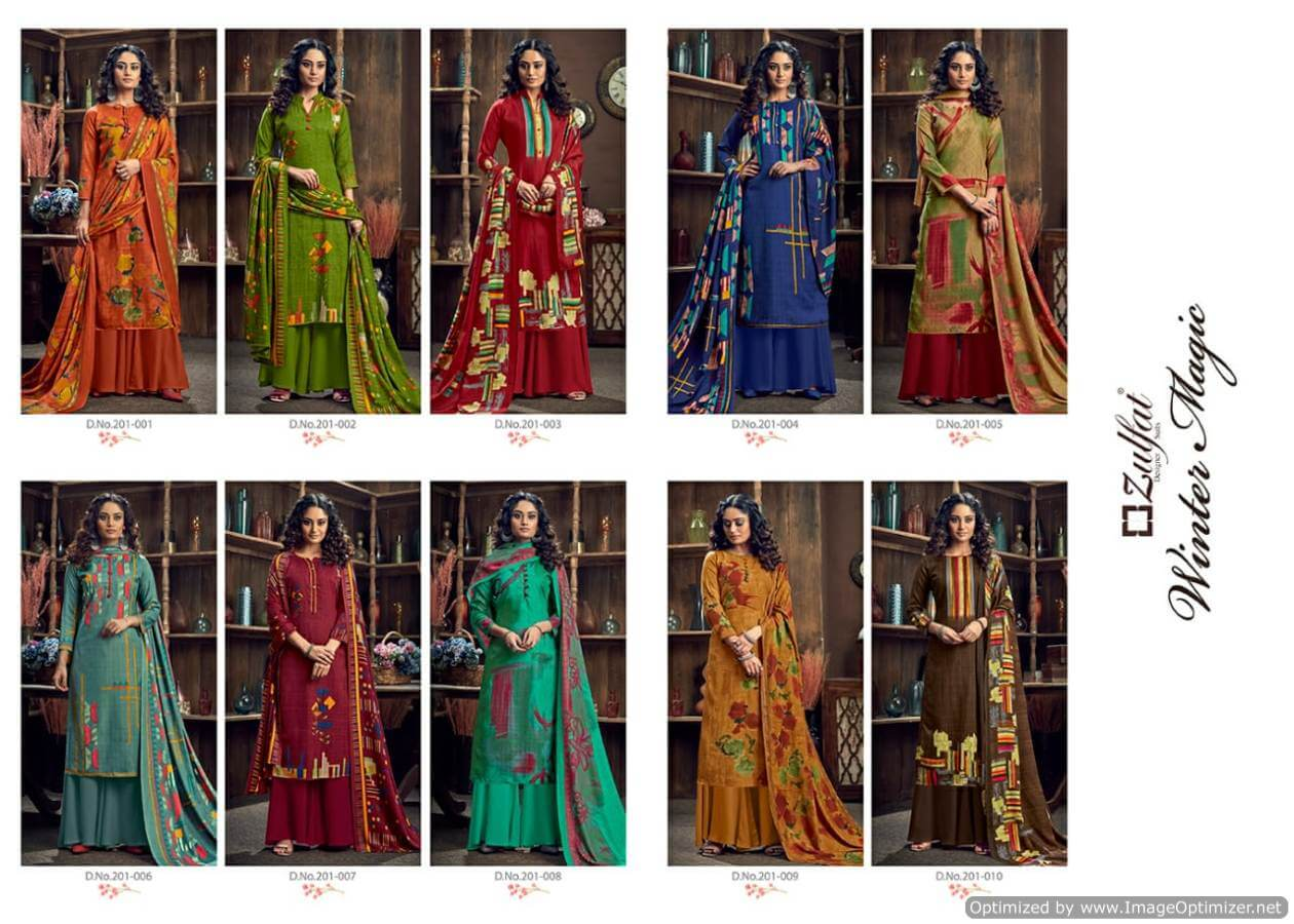 Zulfat Winter Magic collection 10