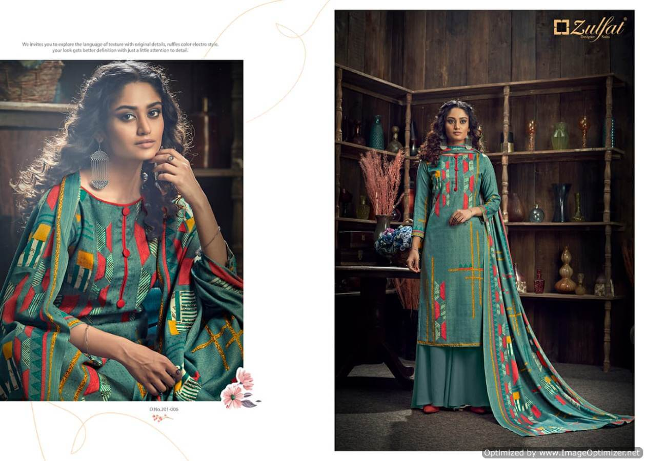 Zulfat Winter Magic collection 9