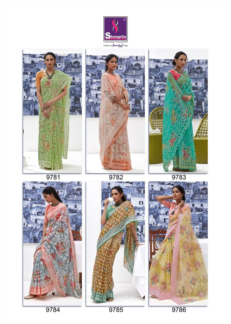 Floral Shangrila collection 16