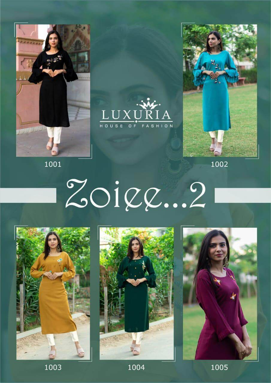 Luxuria Zoiee 2 collection 5