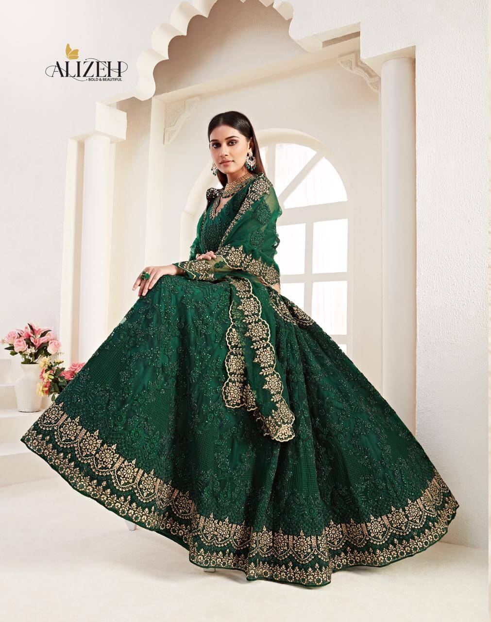 Alizeh Bridal Heritage Vol 2 collection 9