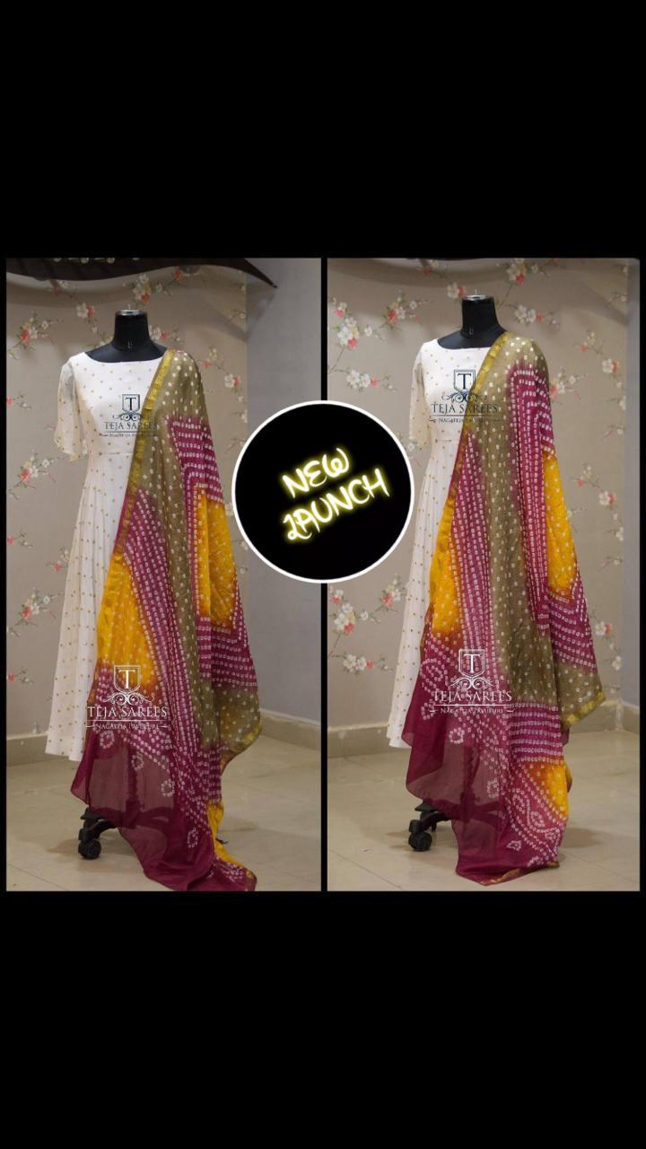 Brand New Launching of   gown with dupatta collection 2
