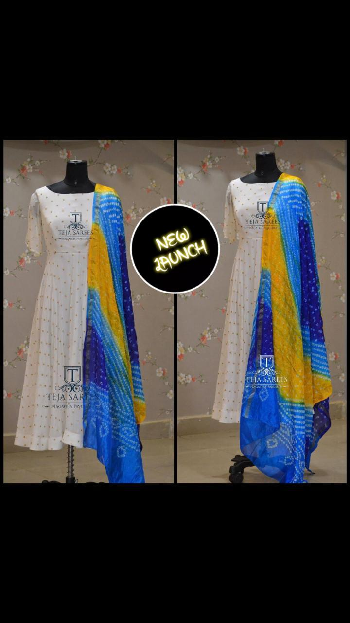 Brand New Launching of   gown with dupatta collection 1