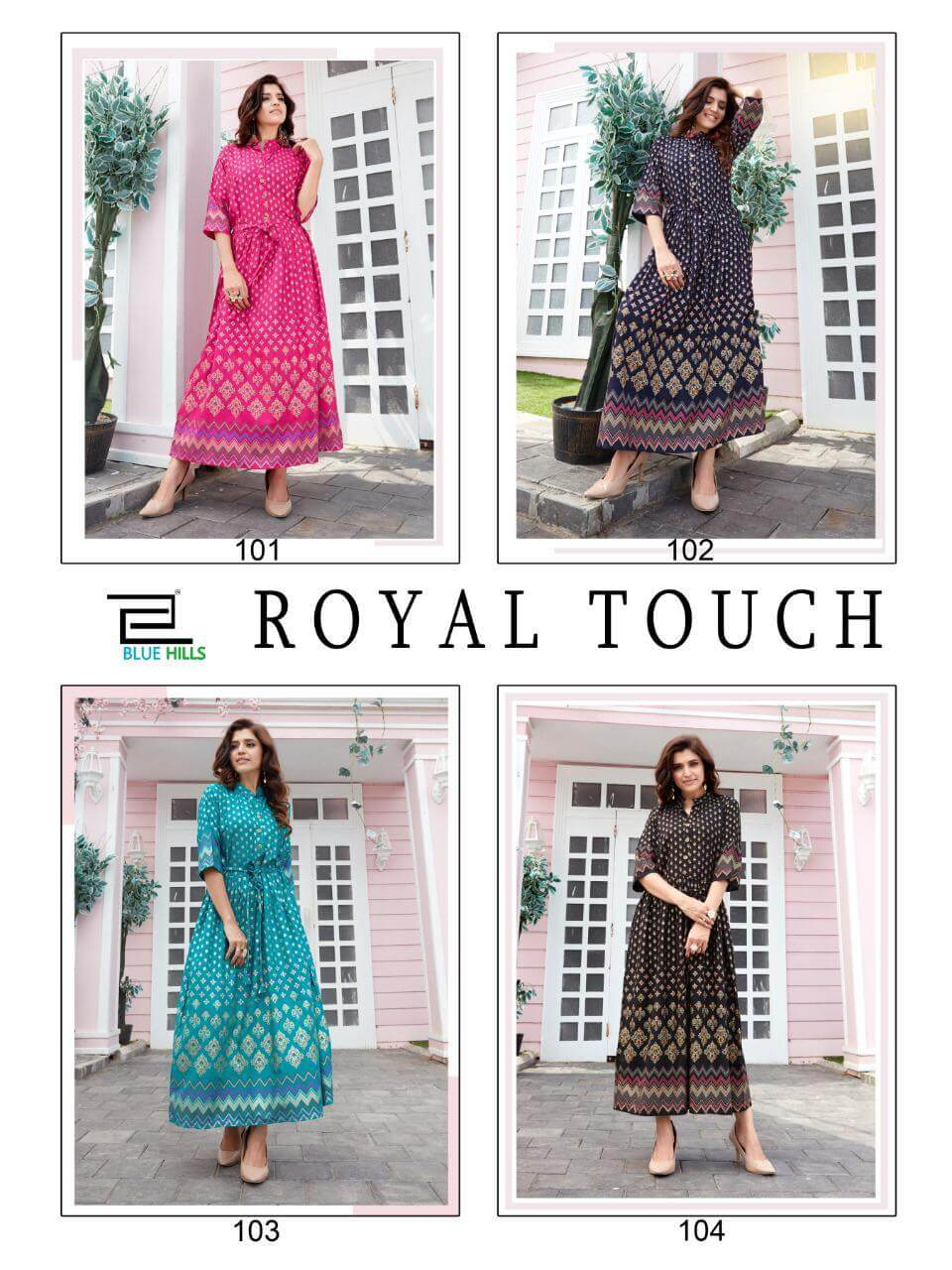 Blue Hills Royal Touch collection 5