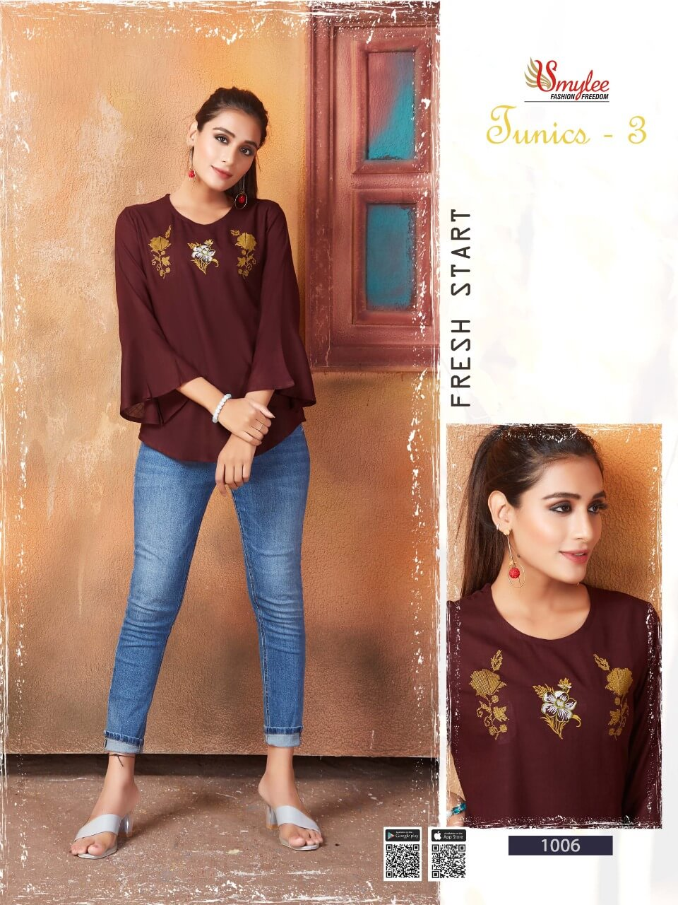 Smylee Tunic 3 collection 6
