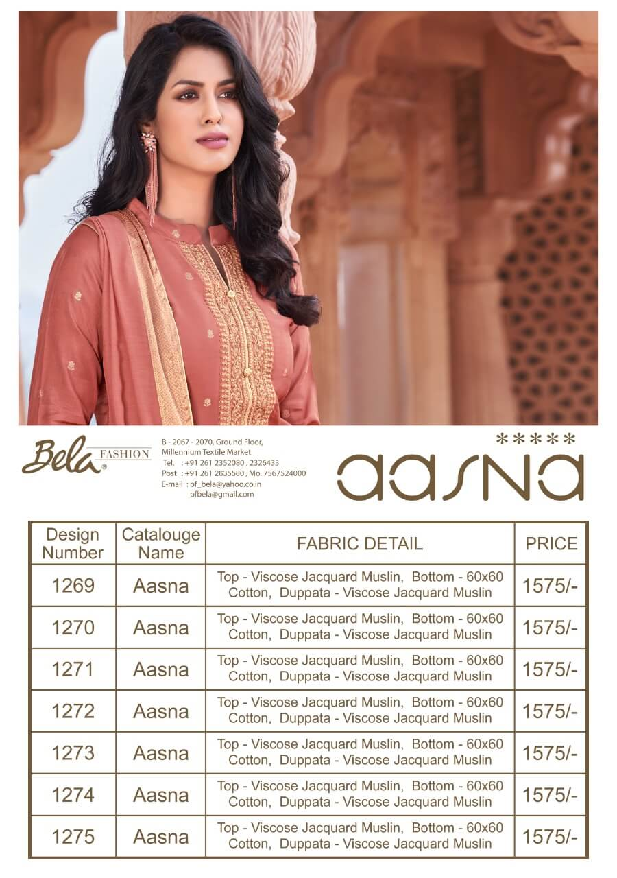 Bela Fashion Aasna collection 1