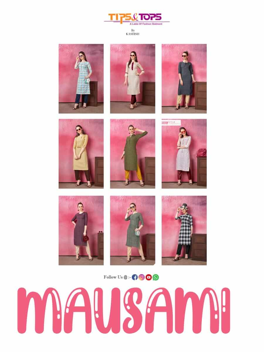 Tips Tops Mausami collection 9