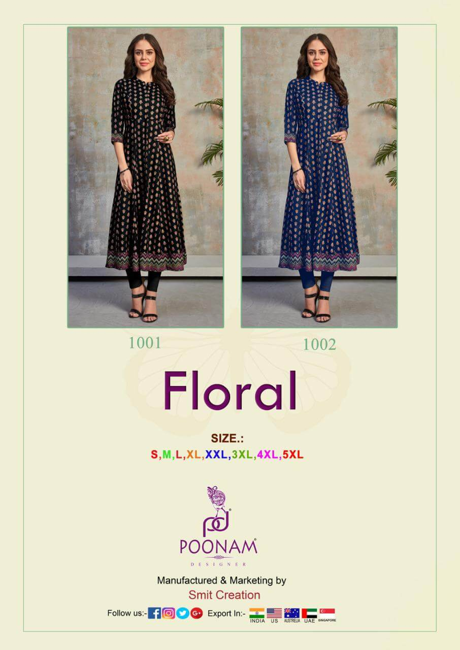 Poonam Designer Floral collection 2
