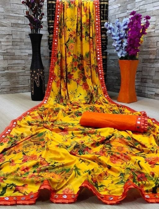New Exclusive Lycra Blend Saree Collection collection 4
