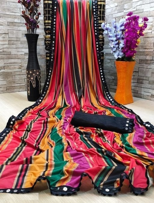 New Exclusive Lycra Blend Saree Collection collection 2