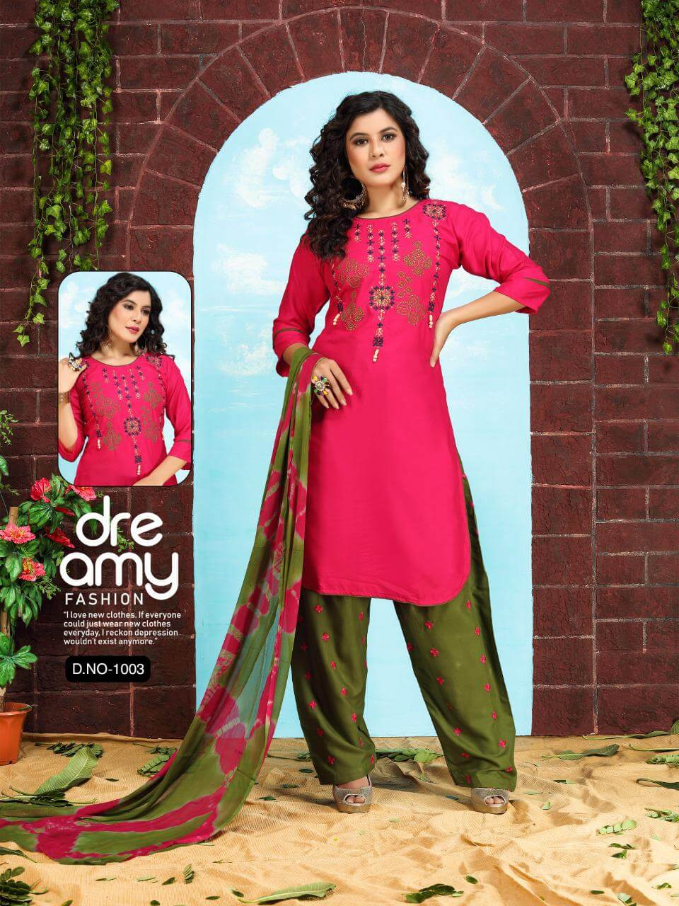 Ft Patiyala Style 1 collection 8