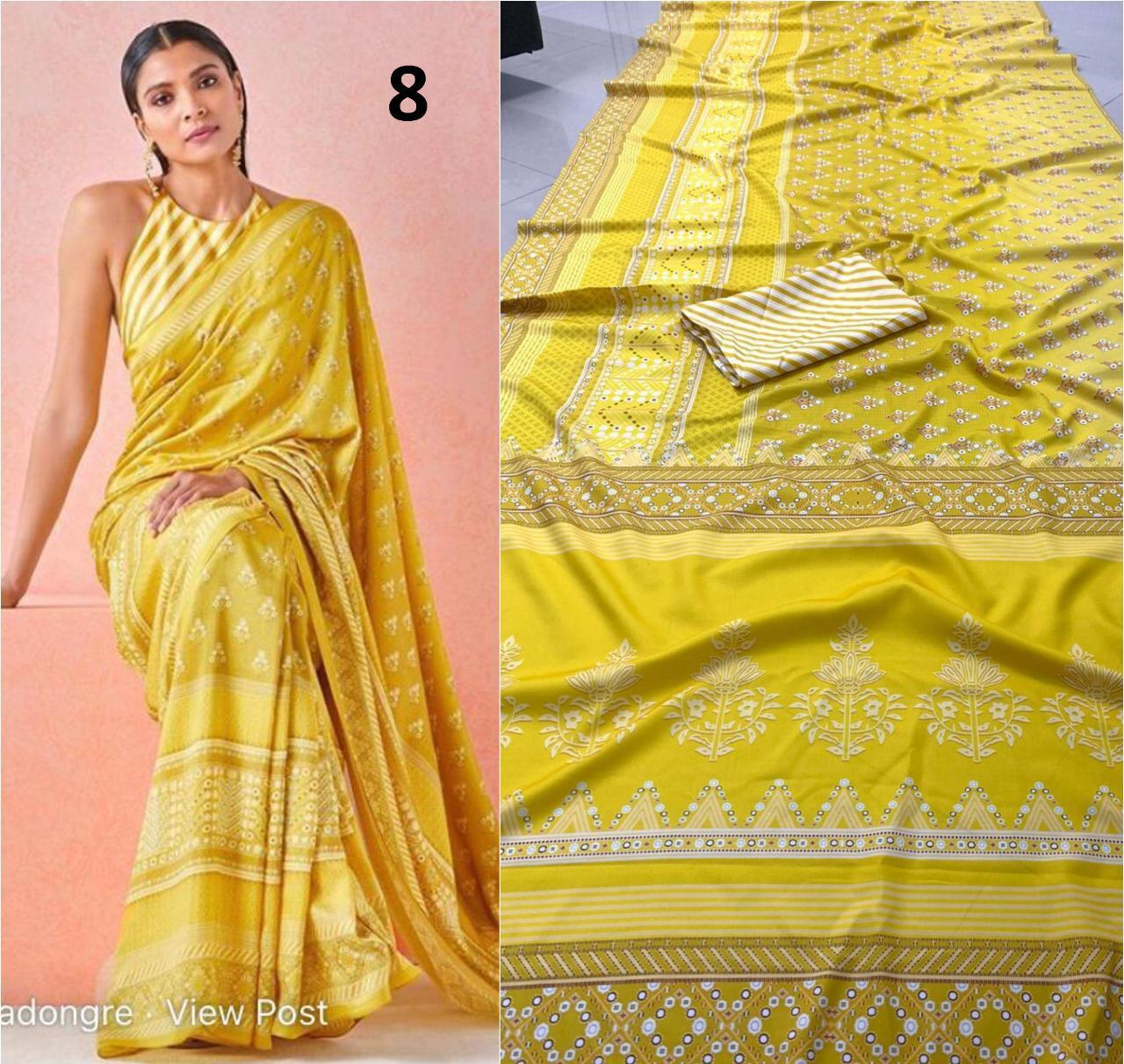 Brand New Designer Saree Collection collection 6