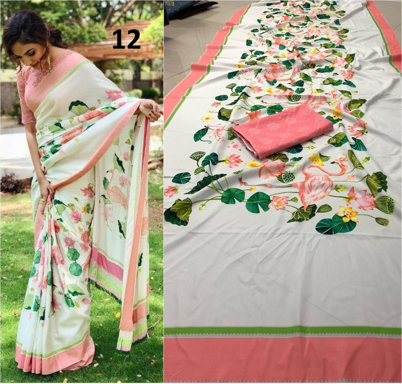 Brand New Designer Saree Collection collection 8