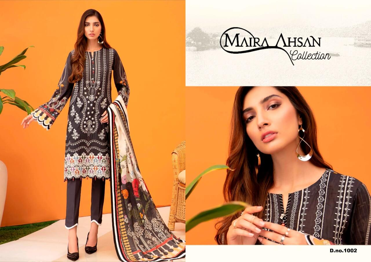 Maira Ahsan Luxury Lawn collection 4