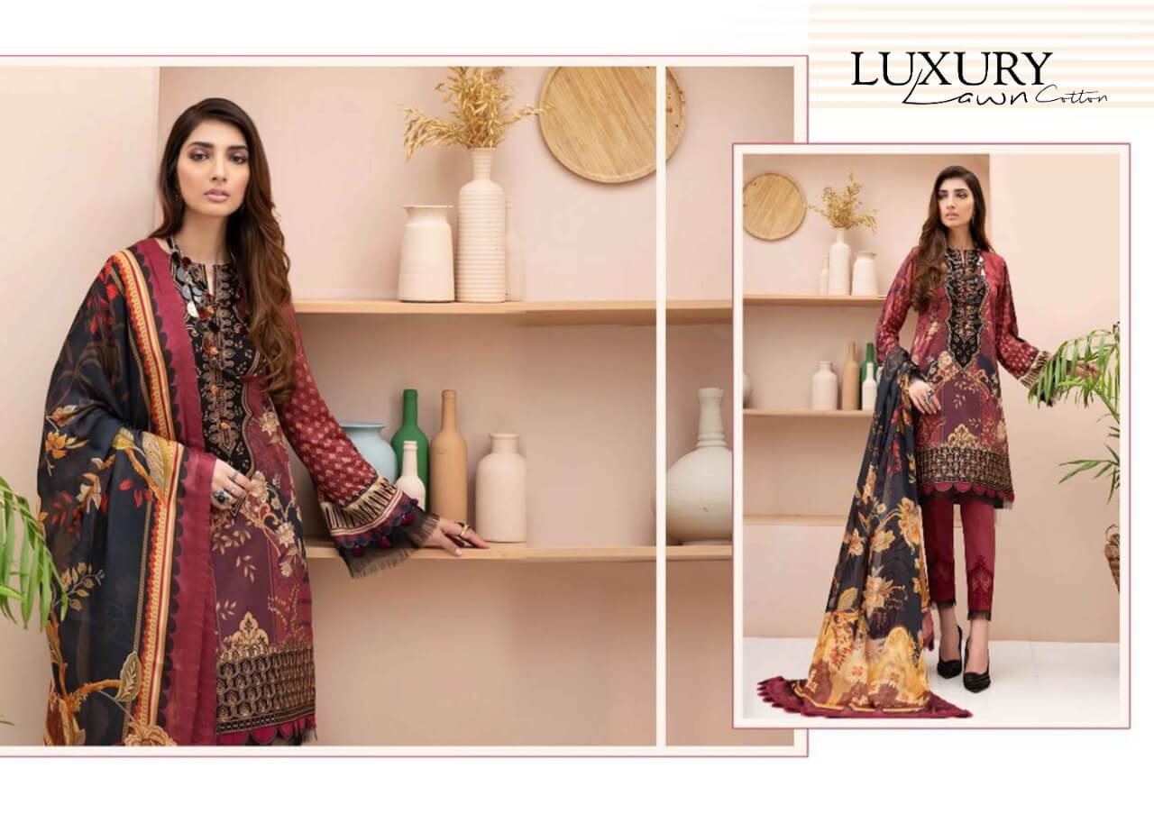 Maira Ahsan Luxury Lawn collection 1