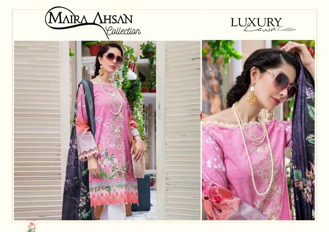 Maira Ahsan Luxury Lawn collection 6