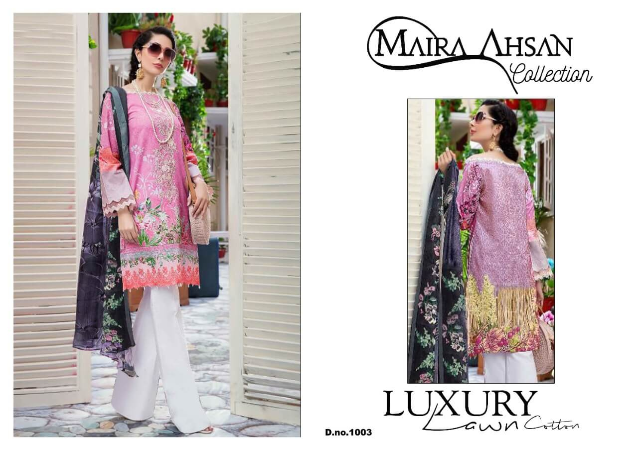 Maira Ahsan Luxury Lawn collection 3