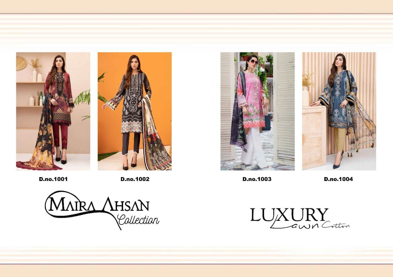 Maira Ahsan Luxury Lawn collection 8