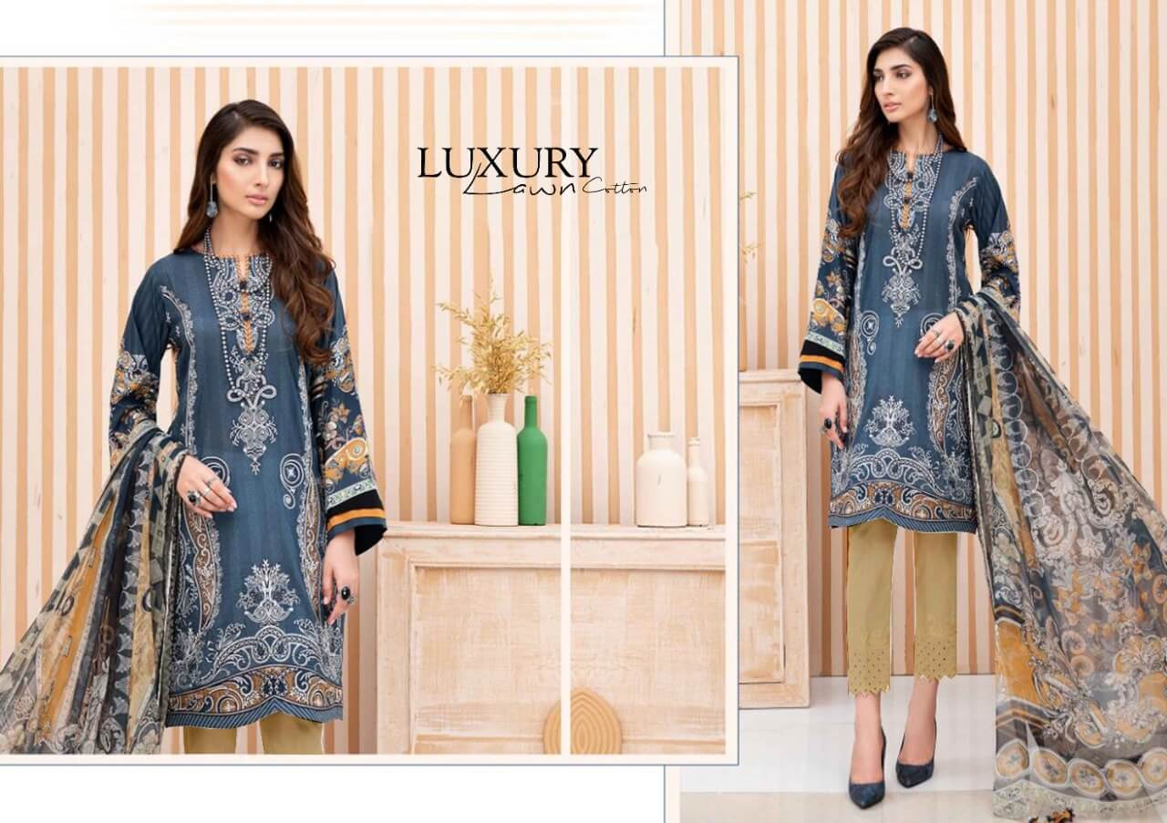 Maira Ahsan Luxury Lawn collection 9
