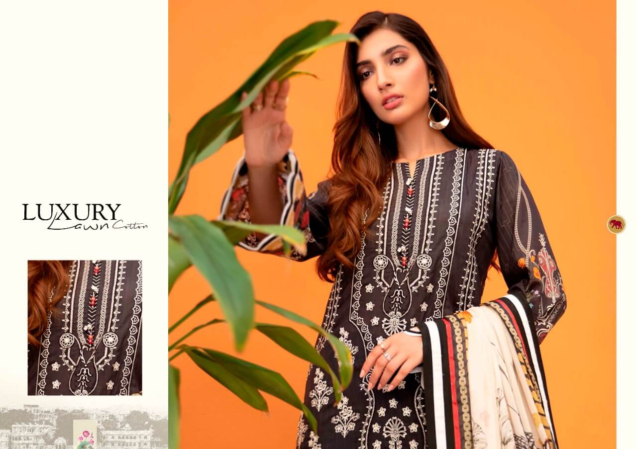 Maira Ahsan Luxury Lawn collection 5