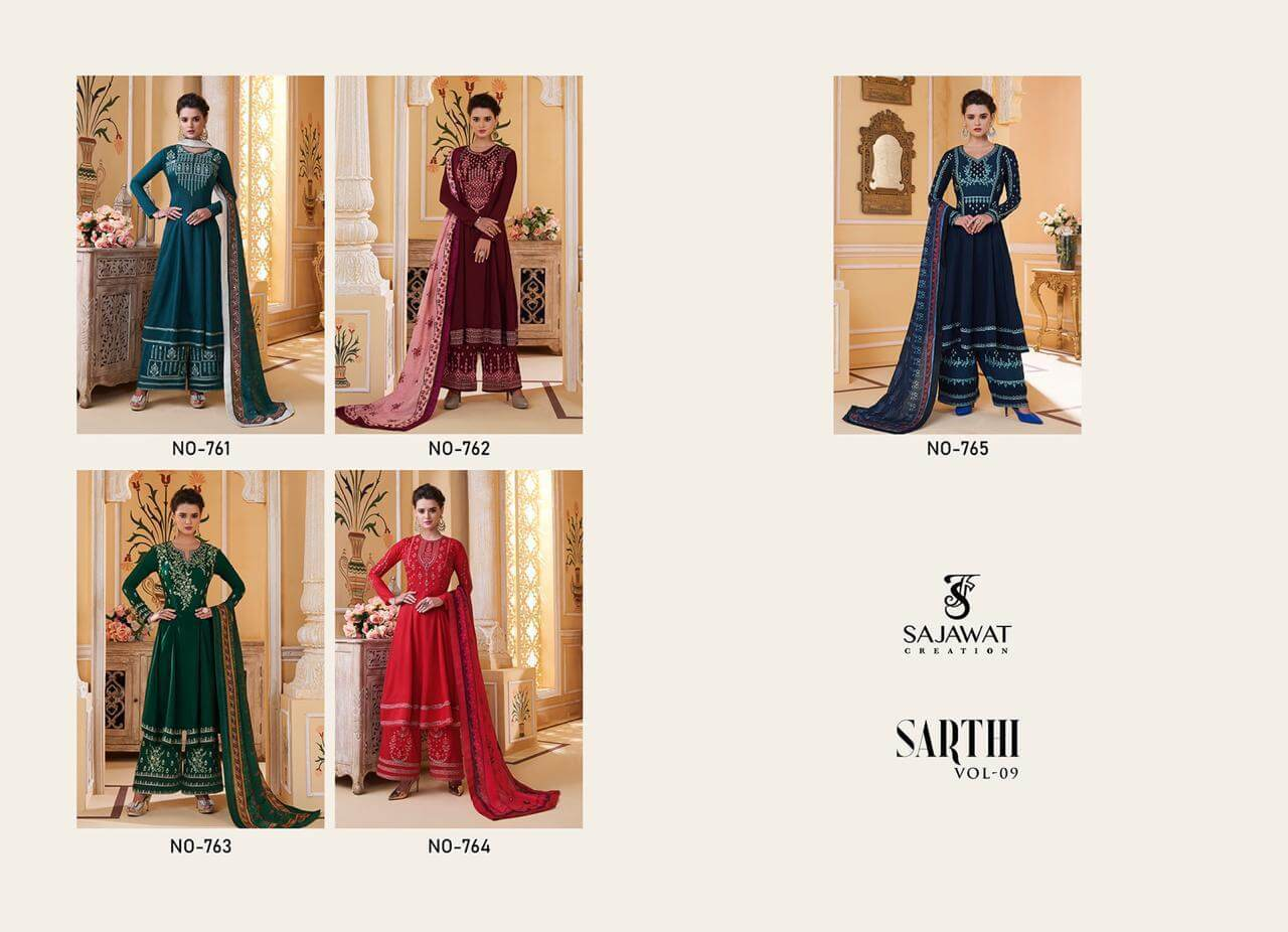 Sajawat Creation Sarthi 9 collection 5