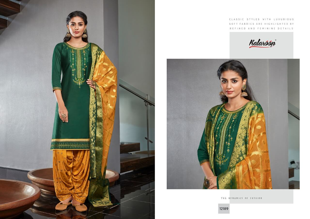 Kalaroop Kajree Suvarna by Patiyala Vol 4 collection 6