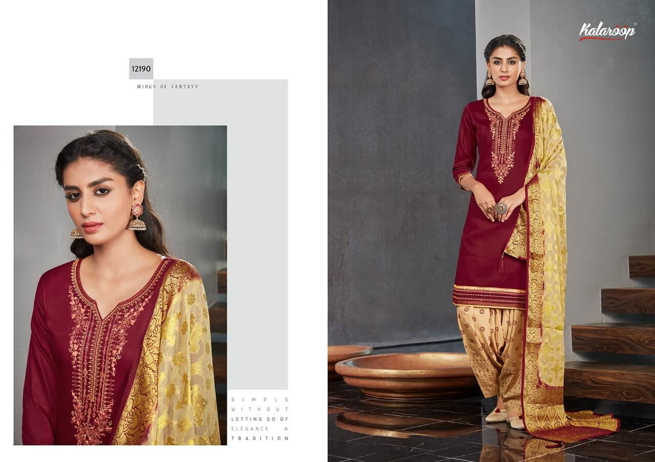 Kalaroop Kajree Suvarna by Patiyala Vol 4 collection 2