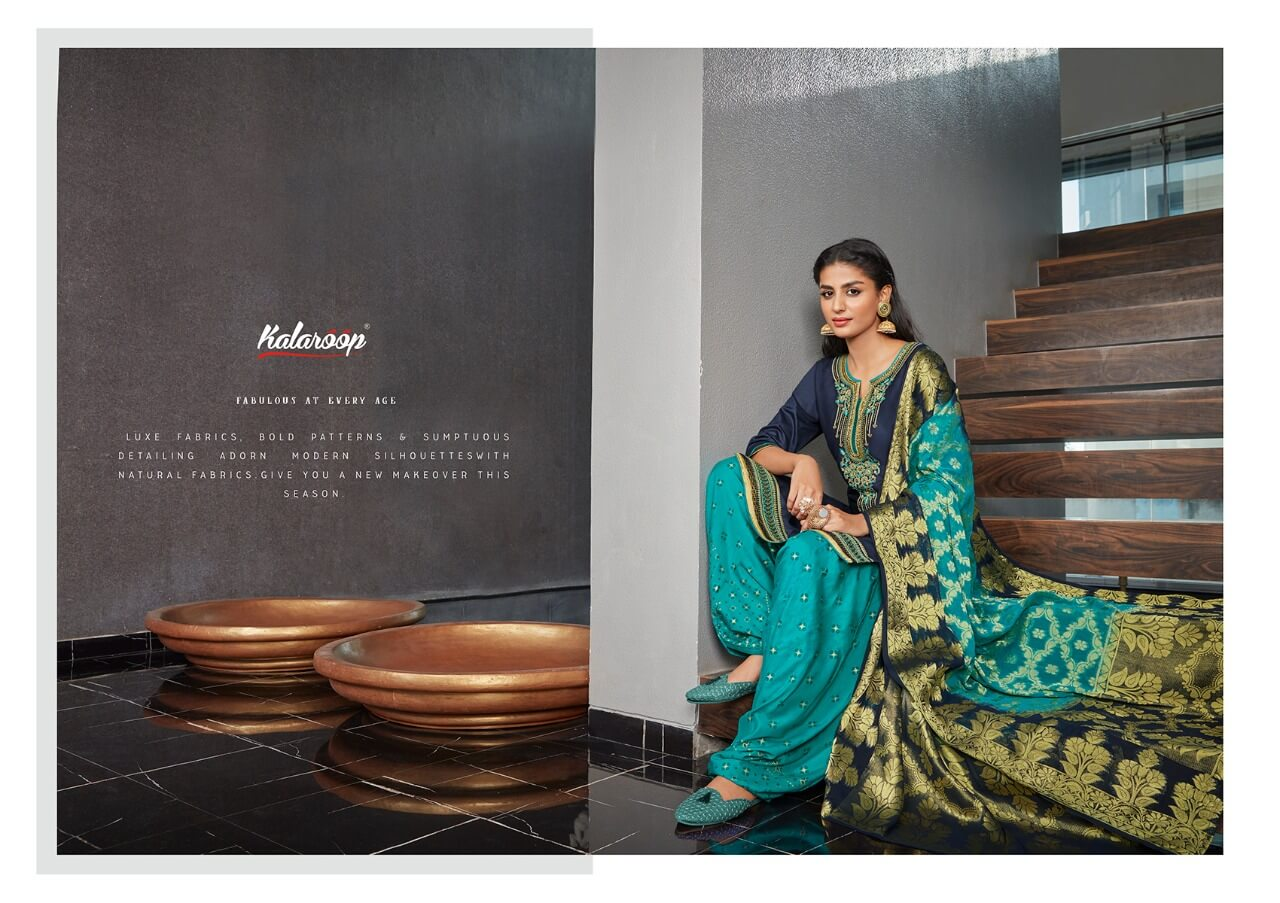 Kalaroop Kajree Suvarna by Patiyala Vol 4 collection 5