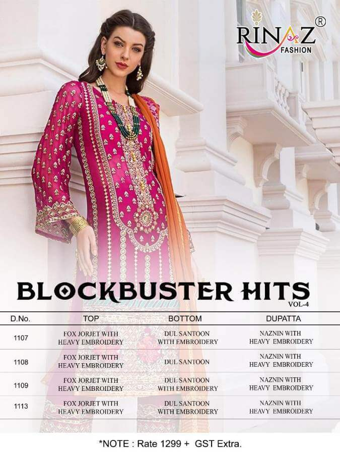 Rinaz Blockbuster Hits 4 collection 6