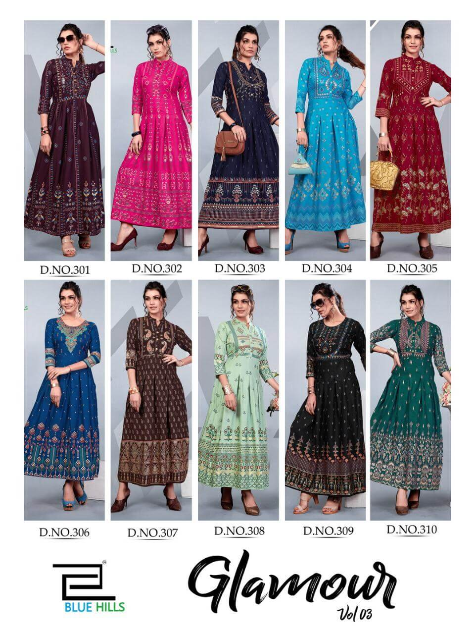 Blue Hills Glamour Vol 3 collection 12