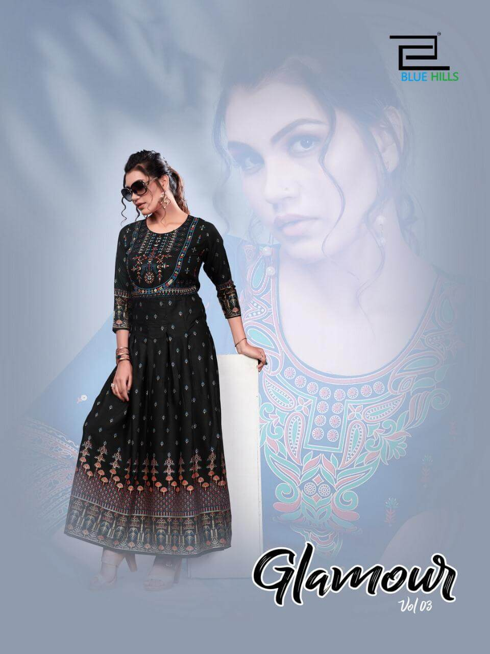 Blue Hills Glamour Vol 3 collection 1
