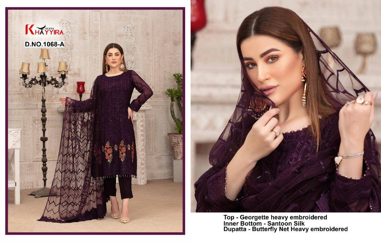 Khayyira Suits Exotic 1068 collection 1