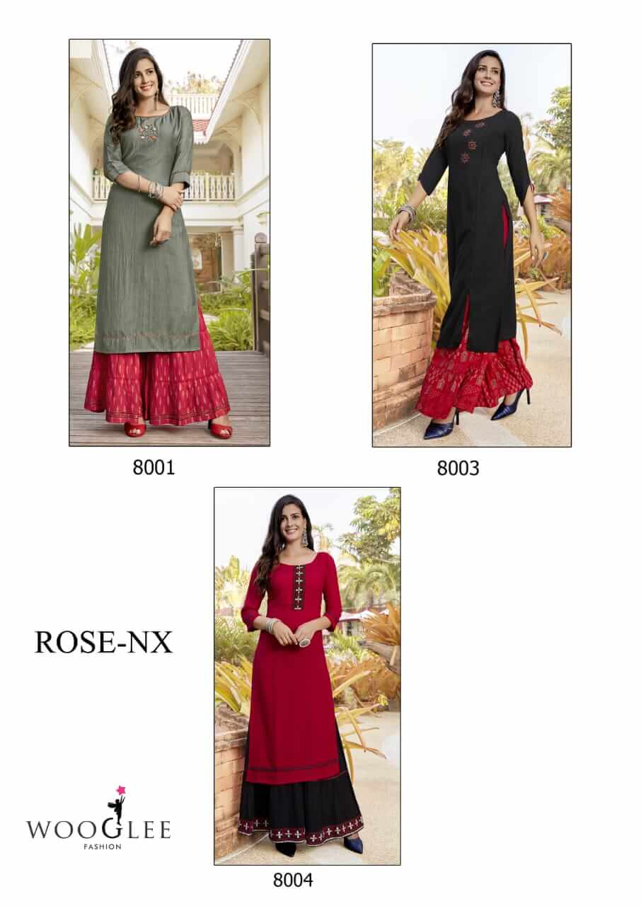 Wooglee Rose Nx collection 3