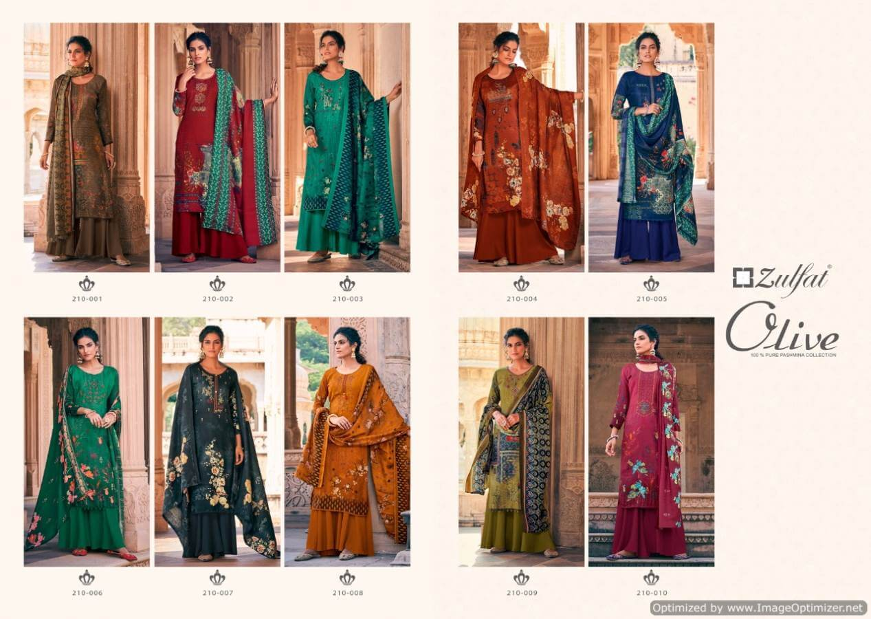 Zulfat Olive collection 7