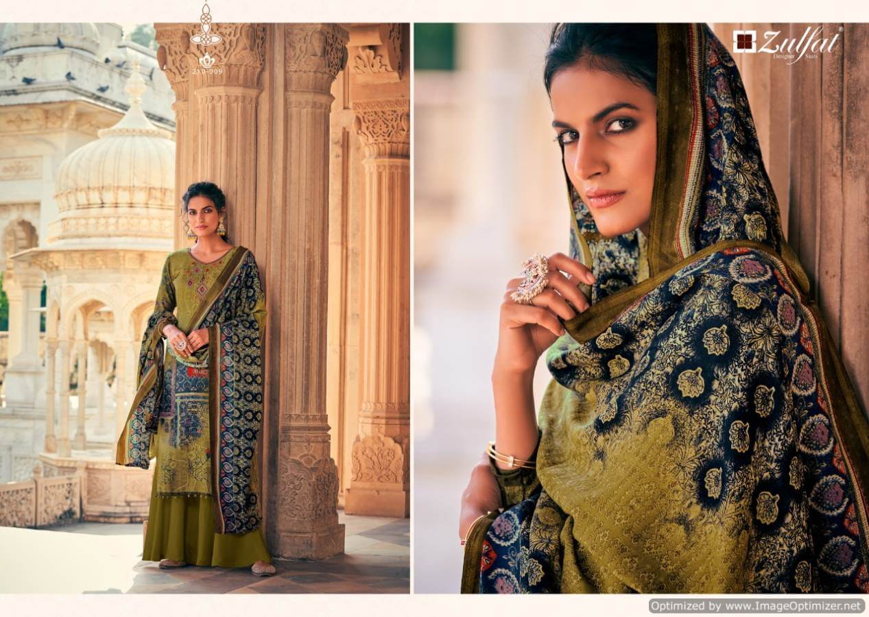 Zulfat Olive collection 8