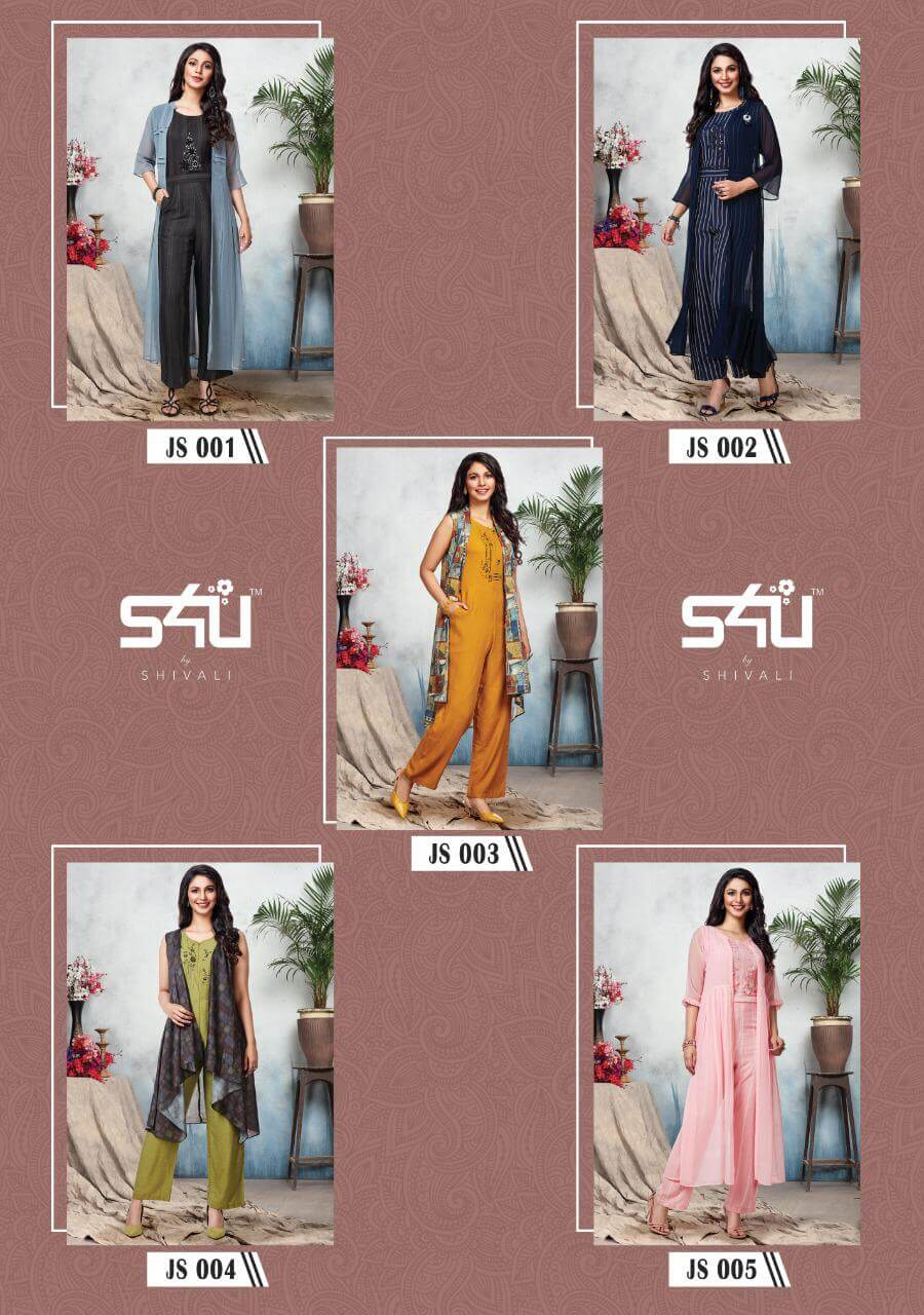 S4u Hello Jacket Jumpsuit Edition collection 2