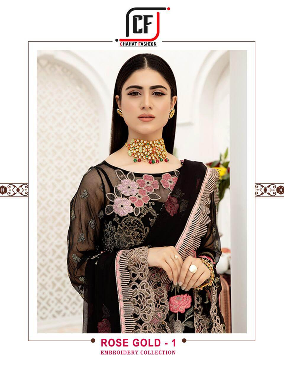 Chahat Fashion Rose Gold Vol 01 collection 2