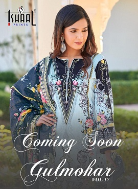 Ishaal Gulmohar 17 Pure Lawn collection 2