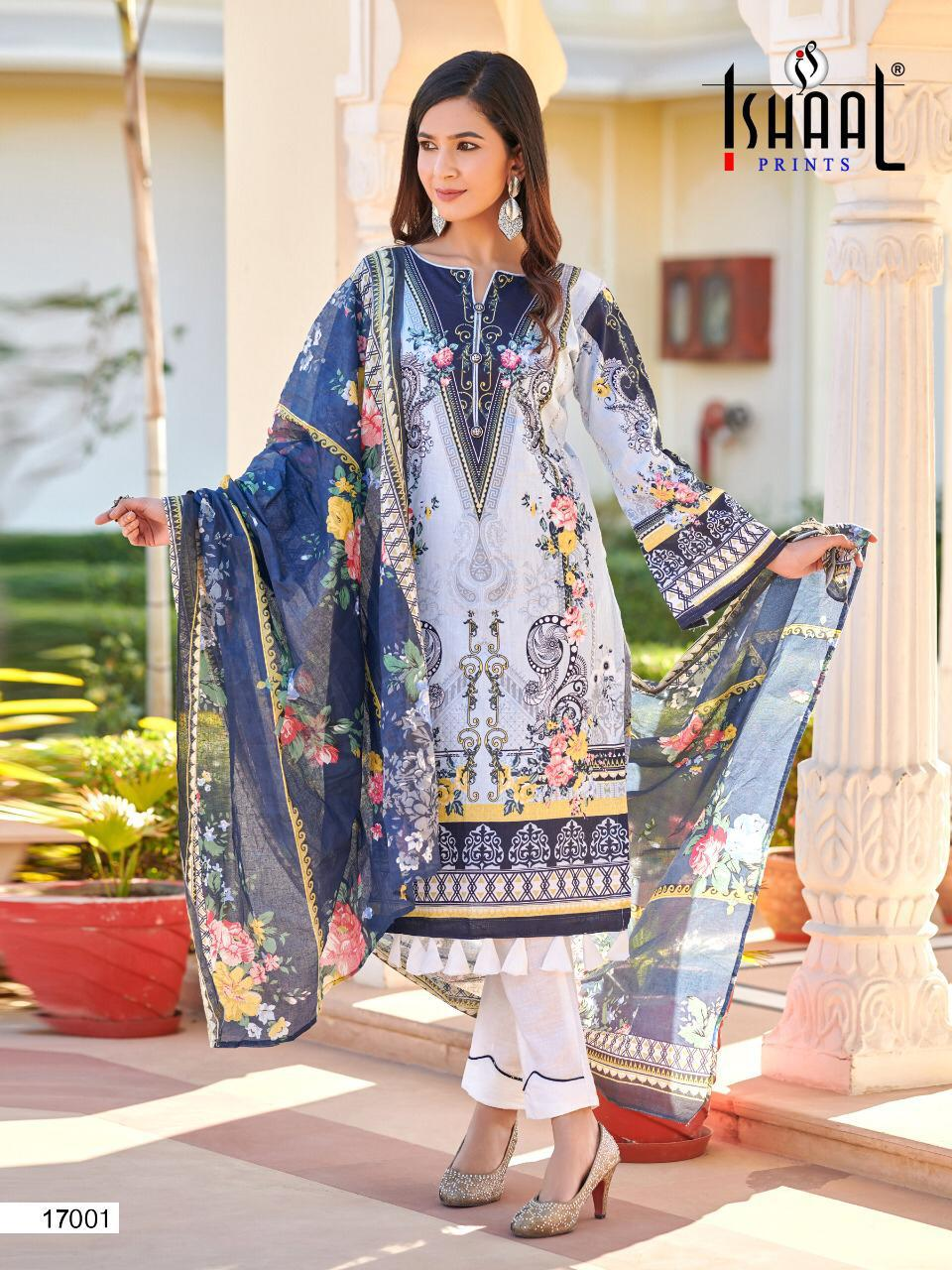 Ishaal Gulmohar 17 Pure Lawn collection 9
