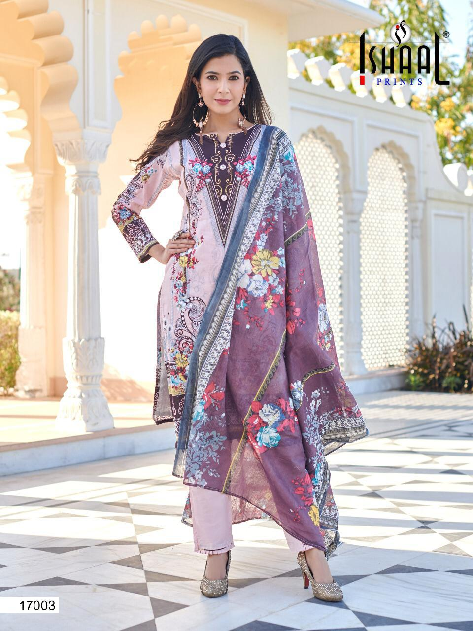 Ishaal Gulmohar 17 Pure Lawn collection 5