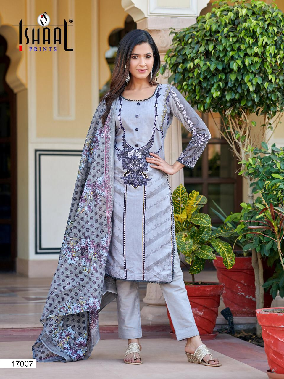 Ishaal Gulmohar 17 Pure Lawn collection 11