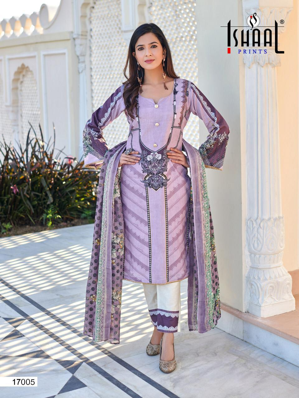 Ishaal Gulmohar 17 Pure Lawn collection 10