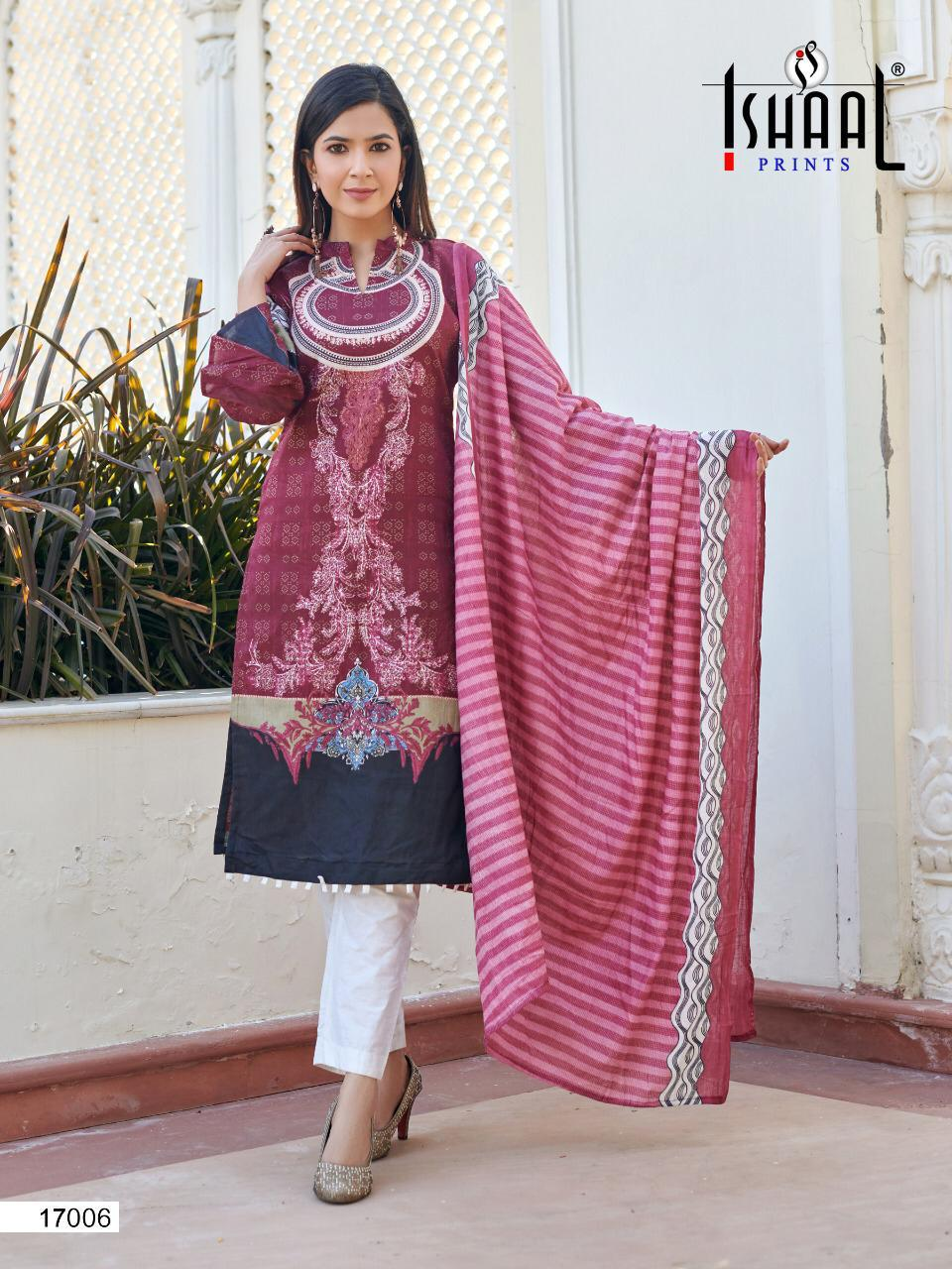 Ishaal Gulmohar 17 Pure Lawn collection 3