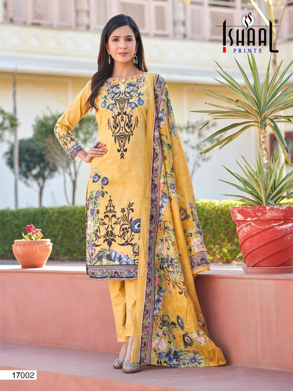 Ishaal Gulmohar 17 Pure Lawn collection 12