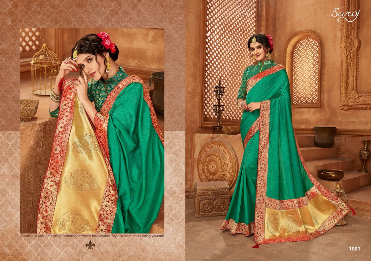 Saroj Abhilasha Festive Wear collection 1