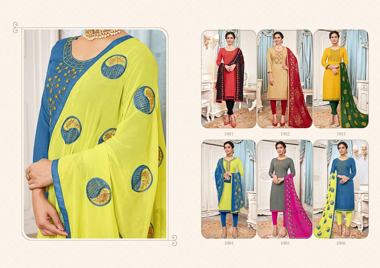Avc Surbhi Handwork Casual Wear collection 8