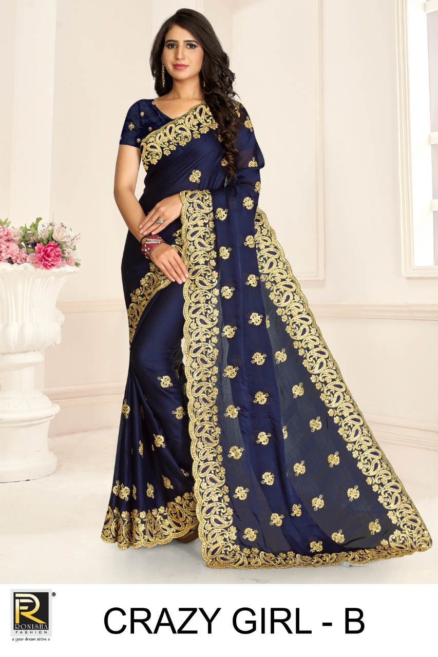 Ronisha Crazy Girl Designer Embroidery collection 2